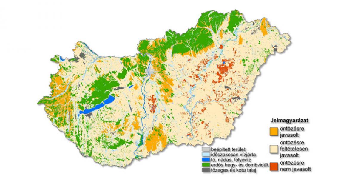 Talajvíz térkép